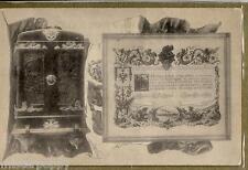 Artiglieria Italiana consegna bandiera al Cacciatorpediniere WWI PC Circa 1907