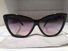 1af23372cb5 Linda Farrow Luxe Black   Gold Square Cat Eye Dita Women s Sunglasses