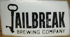JAILBREAK BREWING COMPANY, 2X4'' STICKER with KEY, Laurel, MARYLAND, Neat, Promo