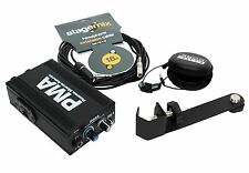 Elite Core Pma Personal Monitor Amplifier Amp Pack + Earphones, Mic Adapter, Cbl
