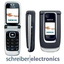 Nokia 6131 Handy schwarz Neu vom Fachhändler Ohne Simlock (black) Klapp Telefon