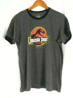 JURASSIC PARK Universal Studios Distressed Logo Soft Blend T-Shirt Men's Large