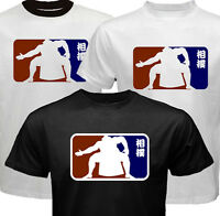 New SUMO Japan Wrestling MLB Kanji style design T-shirt