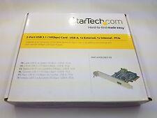USB 3.1 Gen 2 (10Gbps) 1 External 1 Internal USB-A PCI-e 4x StarTech PEXUSB311EI