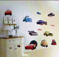 disney cars mcqueen wall sticker decal children/kids boys bedroom mural