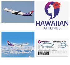 Fluggutschein 439€ Gutschein hawaiian Airlines Hawaii SanFransisco USA Flüge