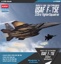 Academy 1/72 Plastic Model Kit F-15E Strike Eagle /333rd Fighter Squadron #12550