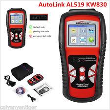 KW830 AutoLink AL519 OBDII EOBD Diagnostic Code Reader Car Fault Scanner Tool