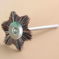 100 Pcs Dental Jewellery Metal Five Angle Type Horse hair rotary polishing disc