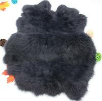 Rabbit Fur Skin Leather Hides Craft Pelts Animal Training Crafts FLy Tying LARP