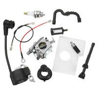 Carburador Carb Bobina de Encendido Kit For STIHL Chainsaw 017 018 MS170 MS180