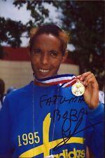 Fatuma Roba-Olympic Gold-Athletics Original Autograph AUTOGRAPH (m-101
