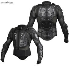 Body Armoured Motorcycle Motorbike Motocross Spine Chest Protector Guard Jacket
