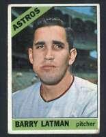 1966 Topps #451 Barry Latman VG/VGEX Astros 33095