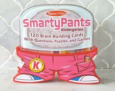 Melissa Doug Smarty Pants Kindergarten 120 Cards Brain Building Game Educational