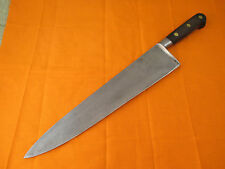Professional Sabatier Carbon Steel 12 inch Chef Knife - Quick Shipping!!!