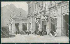 Bergamo San Pellegrino Kursaal cartolina QT0689