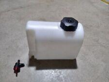 2Qt. G Man Plastic Fuel Tank New Racing Go Kart, Racing Lawnmower, Barstool