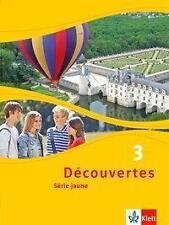 Découvertes 3 série jaune Schülerbuch neu!