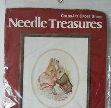 NEW - Benjamin Bunny, Peter Rabbit - Needle Treasures - ColorArt Cross Stitch
