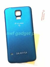 Original Battery Back Cover for Samsung Galaxy S5 SM-G900R4 US-Cellular+S/P~BLUE