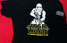 Star Wars The Force Awakens Stormtrooper adult XL t-shirt - used
