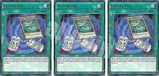 SHVI-EN066 3x FUSION TAG (Fusione Targhetta) Rare Yugioh