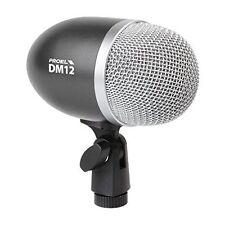 Proel DM12 Microfono dinamico professionale per strumenti con supporto integrato