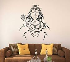Lord Shiva Wall Sticker Mural Vinyl Decal Home Room Decor Wallpaper