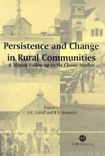 Persistence and Change in Rural Communities : A Fifty Year Follow-Up to Six...