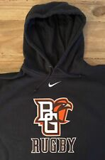 Bowling Green Falcons Rugby Nike Dark Gray Hoodie Mens XXL (Chest 54)