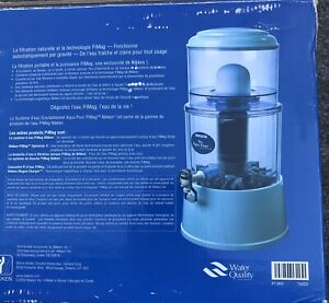 NIKKEN PiMag Aqua Pour Gravity Purification Water System Model NEW