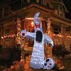 Halloween Inflatable Outdoor Decoration with 10FT 220LT Build-in White Ghost