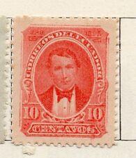 Ecuador 1895 rápida de los problemas bien con bisagras de menta 10c. 002287