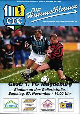 RL 1998/99 Chemnitzer FC - 1. FC Magdeburg, 07.11.1998