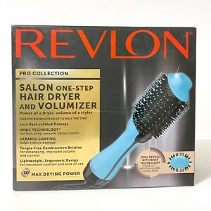Revlon Pro Collection Salon One-Step Hair Dryer and Volumizer Oval Design Mint