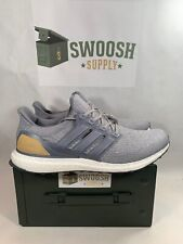 Adidas Ultra Boost Grey Tan LTD Leather Suede Size 13 BB1092 NMD Yeezy PK
