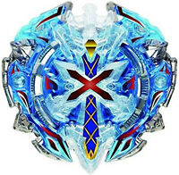 B-67 BLUE Xeno Xcalibur / Xcalius / Excalibur DOWN ORBIT Burst BOOSTER Beyblade