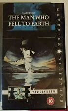 The Man Who Fell To Earth 18 cert(VHS Video 1998)NEW &Factory Sealed David Bowie