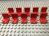 Lego 10 x Seats / Chairs - 4079 Red Bundle Joblot Minifigure Utensil
