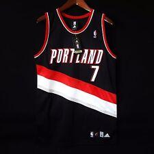 100% Authentic Brandon Roy Adidas Blazers NBA away Jersey Size 36 S M - lillard