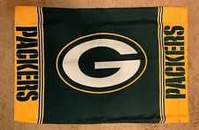 Lot (4) NFL Green Bay Packers Pillowcases