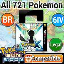 Unlocked X 100% LEGAL Battle Ready Pokemon SUN & MOON Compatible!! + CuStOmIze!!