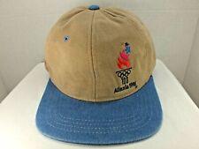 1996 Olympic Games Atlanta Georgia Coca-Cola Cap Rare Vtg Strapback Hat Cap