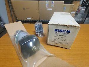 😎 NEW MINARIK BISON 1/20 HP GEARMOTOR 90 VDC 25 RPM 71.7:1 RATIO 507-01-132