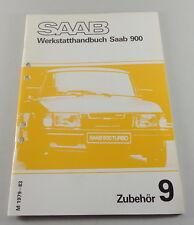 Manuel D'Atelier Saab 900 Équipement Modèle Année 1979-1983