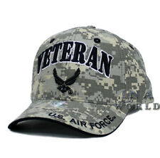 U.S. AIR FORCE hat VETERAN USAF Logo Military Licensed Baseball cap- Digi Camo