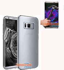 Funda TPU LISA TRANSPARENTE Samsung Galaxy S8 + PROTECTOR CRISTAL TEMPLADO