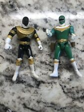 Gold And Green Zeo Action Figure 1996 Bandai Power Rangers