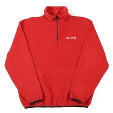 Vintage CHAPS RALPH LAUREN Quarter-Zip Fleece Pullover | 1/4 Half Sweatshirt